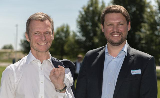 Geschäftsführer der SWMUNICH Real Estate GmbH: Gert Waltenbauer und Lorenz Schmid